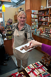California: Napa City, Oxbow Market, Anette's Chocolate.  Photo copyright Lee Foster.  Photo #107208.