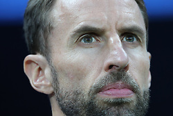 MOSCOW, July 11, 2018  Head coach Gareth Southgate of England is seen prior to the 2018 FIFA World Cup semi-final match between England and Croatia in Moscow, Russia, July 11, 2018. (Credit Image: © Yang Lei/Xinhua via ZUMA Wire)