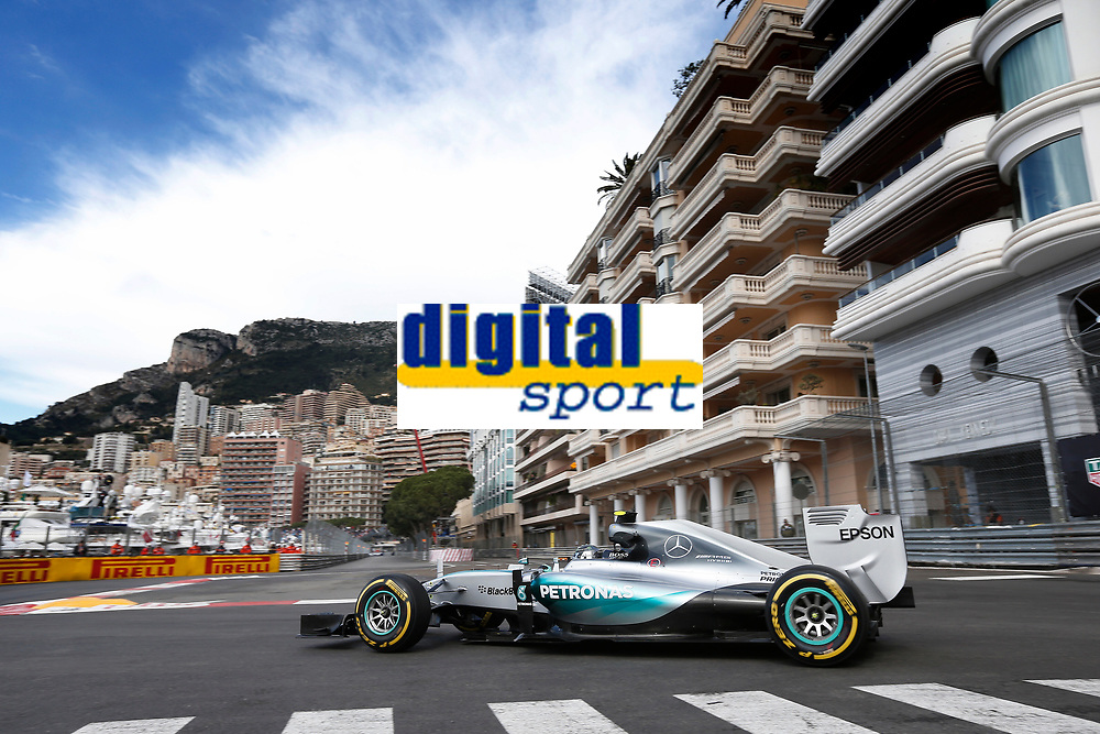 ROSBERG nico (ger) mercedes gp mgp w06 action during the 2015 Formula One World Championship, Grand Prix of Monaco from May 20 to 24th 2015, in Monaco. Photo Jean Michel Le Meur / DPPI
