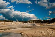 Upper Geyser Basin, Yellowstone National Park, Wyoming.