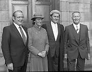 An Tanaiste Called To The Bar.  (P2)..1981..16.11.1981..11.16.1981..16th November 1981..An Tanaiste, Mr Michael O'Leary TD was called to the Bar at The Supreme Court in Dublin today..