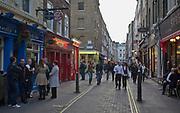 Londyn 2009-10-24. Londyńska ulica w okolicy Covent Garden