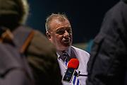 Gillingham manager Steve Evans, post-match interview after the EFL Sky Bet League 1 match between Gillingham and AFC Wimbledon at the MEMS Priestfield Stadium, Gillingham, England on 24 November 2020.