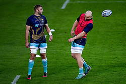 Tom Dodd and Matt Kvesic of Worcester Warriors - Mandatory by-line: Ryan Hiscott/JMP - 09/09/2020 - RUGBY - Recreation Ground - Bath, England - Bath Rugby v Worcester Warriors - Gallagher Premiership Rugby