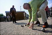 Nederland, Angeren, 19-4-2009Jeu de Boules als onderdeel van de nationale sportweek.Foto: Flip Franssen/Hollandse Hoogte