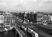 1966 - Views of O'Connell Street, Dublin