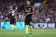 Fernandinho of Manchester City looking on. Premier League match, Crystal Palace v Manchester city at Selhurst Park in London on Saturday 19th November 2016. pic by John Patrick Fletcher, Andrew Orchard sports photography.