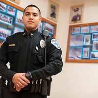 080713       Brian Leddy<br /> The Gallup Police Department's Jessie Diaz was named officer of the year.
