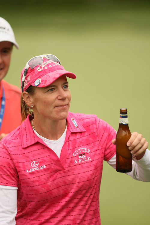 Annika Sorenstam during the fourth round of the 2008 Michelob Ultra Open in Williamsburg, Virginia at Kingsmill Resort on Sunday, May 11, 2008. .