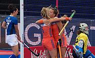 Netherlands Women v Italy Women 290718