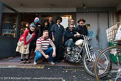 Visit to Kaichiroh Kurosu's Cherry's Company shop. Tokyo, Japan. Monday, December 8, 2014. Photograph ©2014 Michael Lichter.