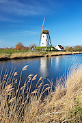 Windmill at Damme, near Bruges
