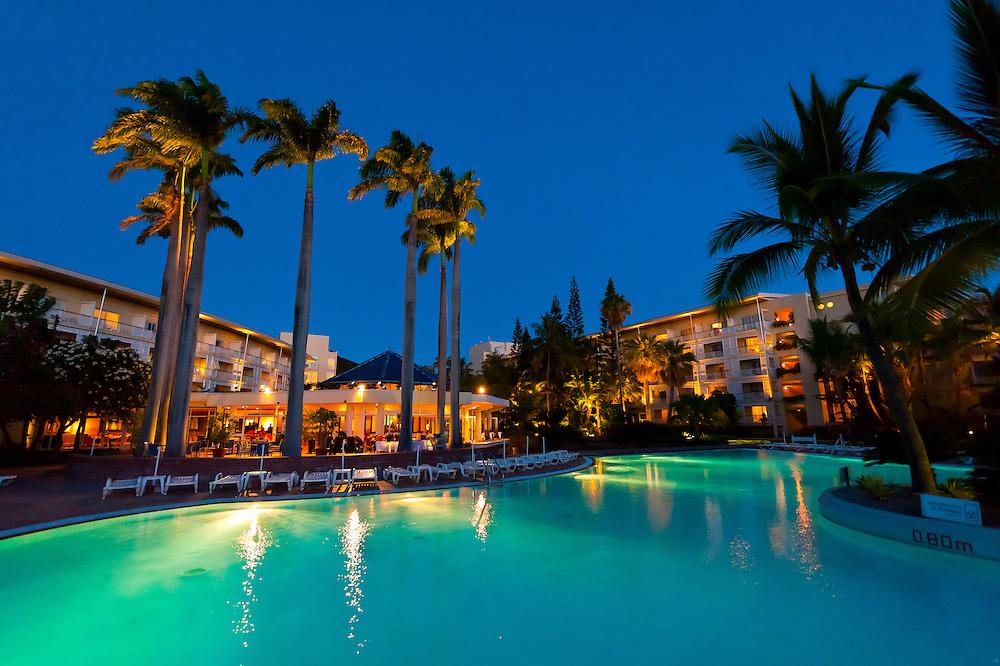 Le Meridien Nouméa Beach Resort Hotel, Anse Vata Beach, Noumea, Grand Terre, New Caledonia