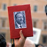 Demonstration against the Mafia