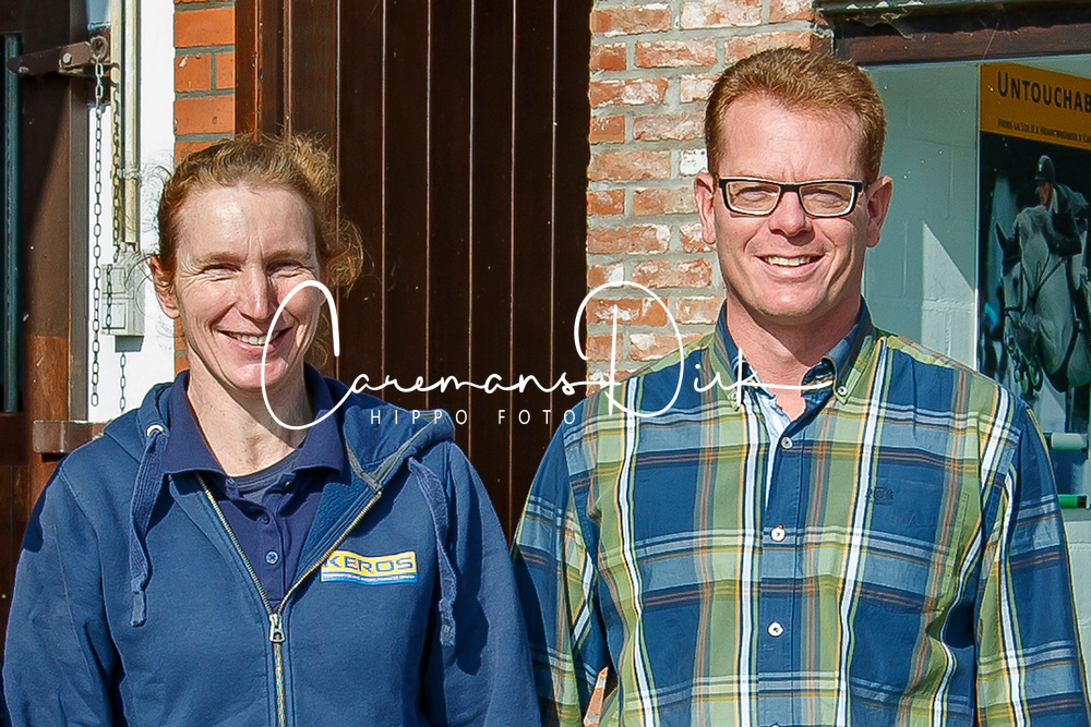 Vandael Hlde, Soens Wim,Dekstation, Inseminatiecentrum Keros - Passendale 2016<br /> © Hippo Foto - Dirk Caremans<br /> 04/10/16