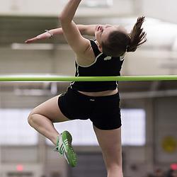 Bowdoin Indoor 4-way track meet: womens high jump