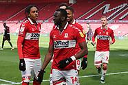 Middlesbrough v Watford 050421