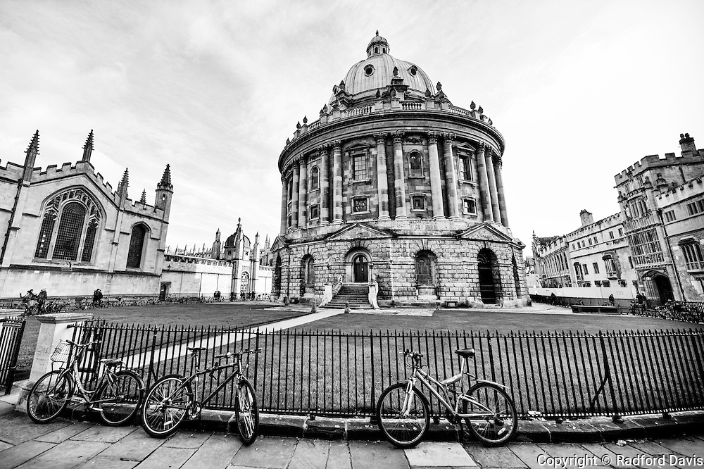 Radcliffe Camera building at University of Oxford, England