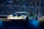 January 30-31, 2021. IMSA Weathertech Series. Rolex Daytona 24h:  #111 GRT Grasser Racing Team, Lamborghini Huracan GT3, Rolf Ineichen, Mirko Bortolotti, Steijn Schothorst, Marco Mapelli