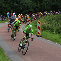 25-06-2016: Wielrennen: NK weg Profs: Ouddorp  <br /> OUDDORP (NED) wielrennen<br /> Op het Zuid Hollandse eiland Goeree Overflakkee streden de profs om de Nederlandse titel. Tom Jelte Slagter, Sebastian Langeveld
