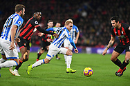 Huddersfield Town midfielder Alex Pritchard (21) during the Premier League match between Bournemouth and Huddersfield Town at the Vitality Stadium, Bournemouth, England on 4 December 2018.