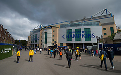 General View outside Stamford Bridge. - Mandatory by-line: Alex James/JMP - 17/09/2017 - FOOTBALL - Stamford Bridge - London, England - Chelsea v Arsenal - Premier League