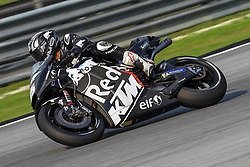 February 6, 2019 - Sepang, SGR, U.S. - SEPANG, SGR - FEBRUARY 06: Hafizh Syahrin of Red Bull KTM Tech 3 in action during the first day of the MotoGP official testing session held at Sepang International Circuit in Sepang, Malaysia. (Photo by Hazrin Yeob Men Shah/Icon Sportswire) (Credit Image: © Hazrin Yeob Men Shah/Icon SMI via ZUMA Press)