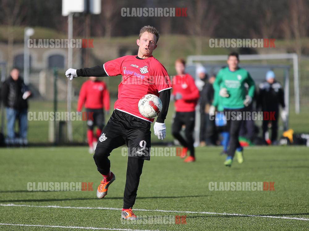 Daniel Udsen (FC Helsingør) i gennembrud.