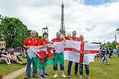 EURO2016 fans mingle without trouble | Paris | 15 June 2016