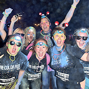London,UK, 5th Sept 2015 : Hundreds of people participate for the first Color Run Night at the Queen Elizabeth Olympic Park in London. Photo by See Li
