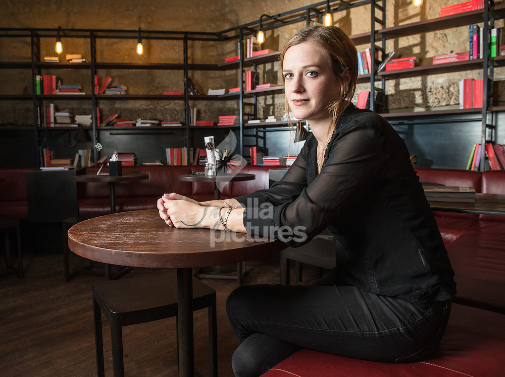 British playwright Penny Skinner pictured at Royal Court Theatre, Sloane Square<br /> Picture by Daniel Hambury/Stella Pictures Ltd +44 7813 022858<br /> 11/11/2015