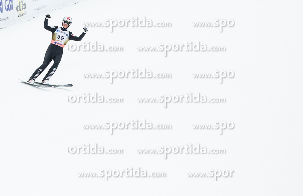 Robert Johansson of Norway competes during 1st Round of the Ski Flying Hill Individual Competition at Day 2 of FIS Ski Jumping World Cup Final 2018, on March 23, 2018 in Planica, Slovenia. Photo by Vid Ponikvar / Sportida