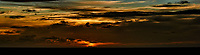 Sunrise panorama on board the MV World Odyssey. Day 65 of 103 of the Semester at Sea Spring 2016 Voyage at sea between Mauritius and South Africa. Composite of 18 images taken with a Nikon 1 V3 camera and 70-300 mm VR lens (ISO 200, 100 mm, f/8, 1/320 sec).