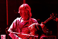 Phil Lesh. The Grateful Dead Performing at Shea's Buffalo Theater, New York 20 January 1979<br /> Contact Photographer for High Resolution File if purchasing Rights Managed Usage.