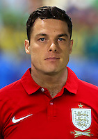 Football Fifa Brazil 2014 World Cup Matchs-Qualifier / Group H /<br /> San Marino vs England  0-8  ( Olympic Stadium - Serravalle , Republic of San Marino )<br /> Scott Parker of England ,  during the match between San Marino and England