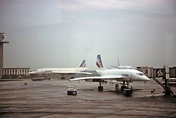 Two Air France Concords