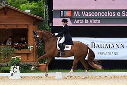 Vasconcelos e Sá Maria Julia (POR) - ASta la Vista<br /> FEI European Dressage Championship Young Riders - Bern 2012<br /> © Hippo Foto - Leanjo de Koster