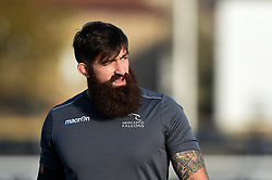 Gary Graham of Newcastle Falcons looks on during the pre-match warm-up - Mandatory by-line: Patrick Khachfe/JMP - 07/11/2020 - RUGBY UNION - Trailfinders Sports Ground - London, England - Ealing Trailfinders v Newcastle Falcons - Pre-season friendly