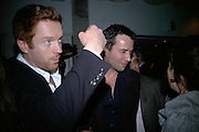 DAMIAN LEWIS and  JAMES PUREFOY, Tom Cairns directs Almeida Fundraising Benefit sponsored by Coutts and Co. -A Chain Play by Samuel Adamson, Moira Buffini, David Hare, Charlotte Jones, Frank McGuinness and Roy Williams. Almeida theatre. London. 23 March 2007.  -DO NOT ARCHIVE-© Copyright Photograph by Dafydd Jones. 248 Clapham Rd. London SW9 0PZ. Tel 0207 820 0771. www.dafjones.com.