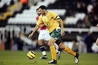 Fotball, 16.november 2004, Privatlandskamp, Norge - Australia ,  Josip Skoko, Australia