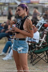 The Buffalo Chip during the 78th annual Sturgis Motorcycle Rally. Sturgis, SD. USA. Friday August 10, 2018. Photography ©2018 Michael Lichter.