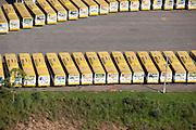 Cuiaba_MT, Brasil...Garagem de empresa de onibus em Cuiaba, Mato Grosso...Bus garage in Cuiaba, Mato Grosso...Foto: LEO DRUMMOND / NITRO