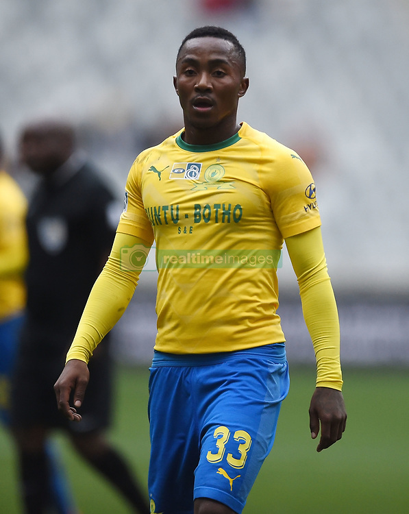Cape Town-180825- Mamelodi Sundowns midfielder Lebohang Maboe  in a clash against  Cape Town City in the MTN 8 semi-final at Cape Town Stadum.Photographer :Phando Jikelo/African News Agency/ANA