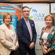 17.05.2016               <br /> A seminar focused on a Start your Own Business programme, targeted at mature entrepreneurs aged 55 plus took place in the Savoy Hotel, Limerick on Tuesday evening, 17 May.  Called Ingenuity, the programme, led by the Ireland Smart Ageing Exchange (ISAX) and sponsored by Bank of Ireland will be run in collaboration with the Local Enterprise Office in Limerick, and will take place over eight weeks, starting in late September 2016.  The seminar provided detailed information on the Start your Own Business programme that will seek interest from those looking to set up both lifestyle and fast-growth businesses.  <br /> <br /> Pictured at the event are, Antoinette Golden, Bank of Ireland, Pat Carroll, Startup Community Manager Bank of Ireland and Anne Connelly, CEO, Ireland Smart Ageing Exchange. Picture: Alan Place