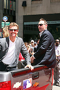 Robin Yount at the Major League Baseball All-Stars and 49 Hall of Famers ride up Sixth Avenue in All Star-Game Red Carpet Parade Presented by Chevy on July 15, 2008