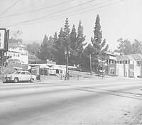 1952 Stripp's Cafe on Sunset Blvd.