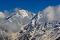 Russia, Caucasus. Mount Donguzorun (4448 m asl)