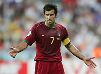 Luis Figo Portugal<br /> Fussball WM 2006 Halbfinale Portugal - Frankreich<br /> Portugal - Frankrike<br />  Norway only