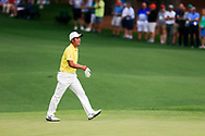 Takumi Kanaya (JPN)(AM) on the 2nd green during the 1st round at the The Masters , Augusta National, Augusta, Georgia, USA. 11/04/2019.<br /> Picture Fran Caffrey / Golffile.ie<br /> <br /> All photo usage must carry mandatory copyright credit (© Golffile | Fran Caffrey)