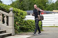 Stephane Ruffier - 01.06.2015 -Equipe de France - Arrivee des joueurs a Clairefontaine<br /> Photo : Andre Ferreira / Icon Sport